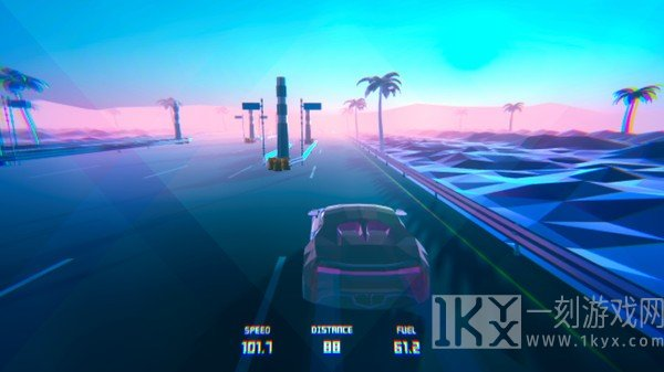 科幻公路赛车3D