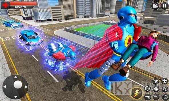 英雄机器人变形车