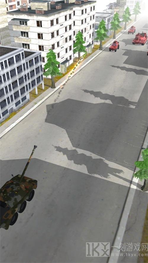 坦克荒野战
