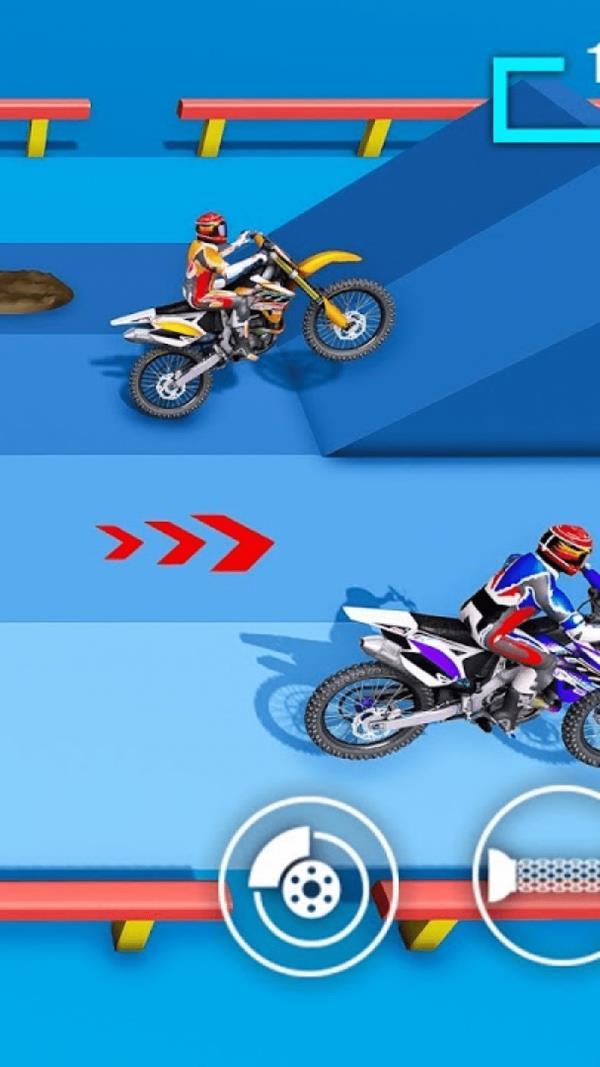 复古摩托车3D