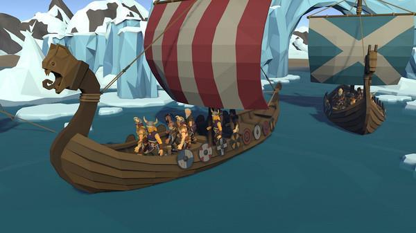 维京人海盗战斗
