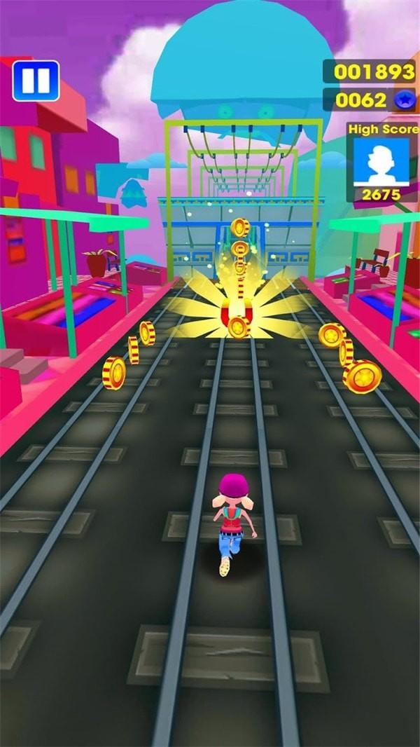 地铁小子跑酷