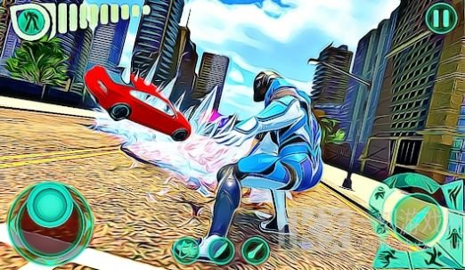 大城市飞行英雄