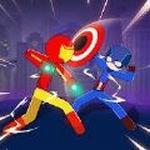 超级斯蒂克曼英雄战斗