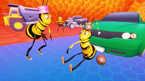 蜜蜂群模拟器