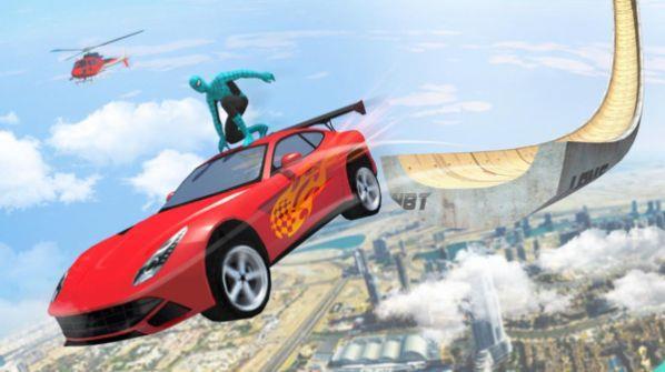 超级英雄超级坡道