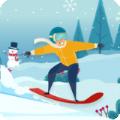 雪橇上的滑雪大师