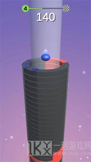 爆炸堆积球3D