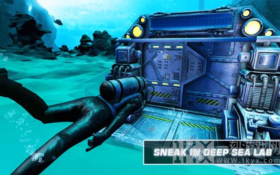 水下隐形间谍
