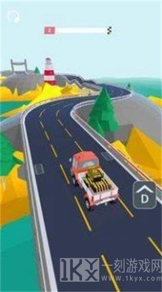 小货车公路驾驶