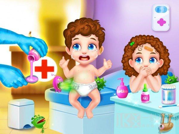 双胞胎日托护理
