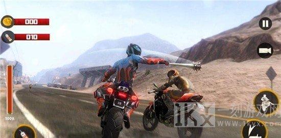 荒野摩托车狂飙