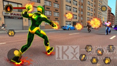 超级英雄城市战士