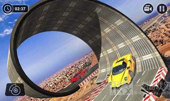 3D巨型终极赛车特技