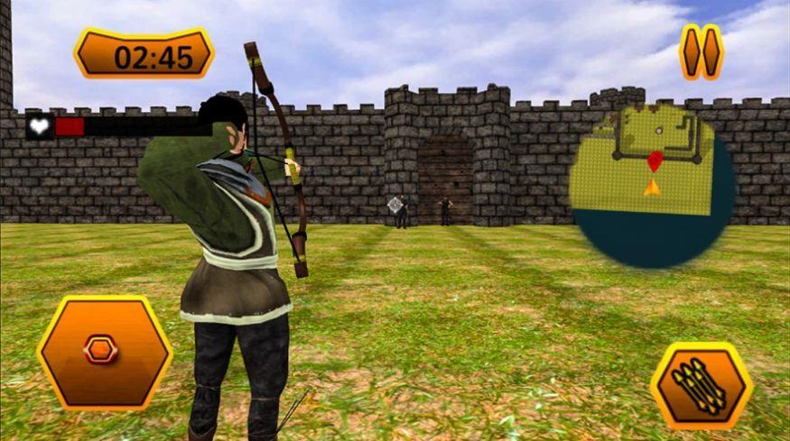 弓箭城堡骑士