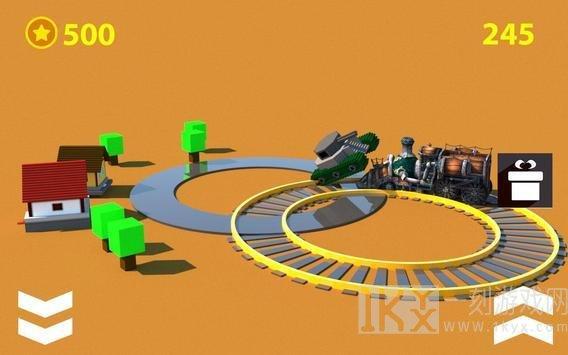 火车环形碰撞