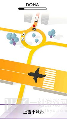 交通堵塞3D