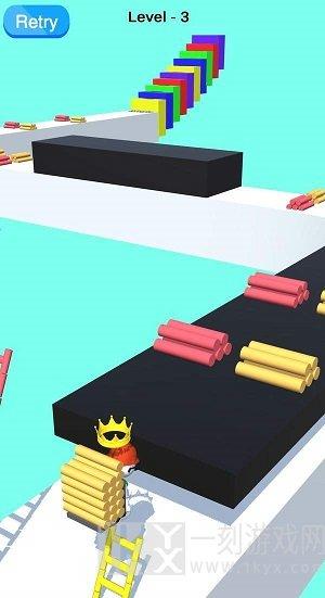 弹跳梯子3D