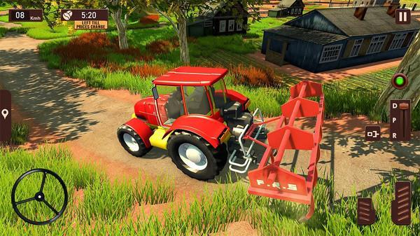 拖拉机手推模拟器
