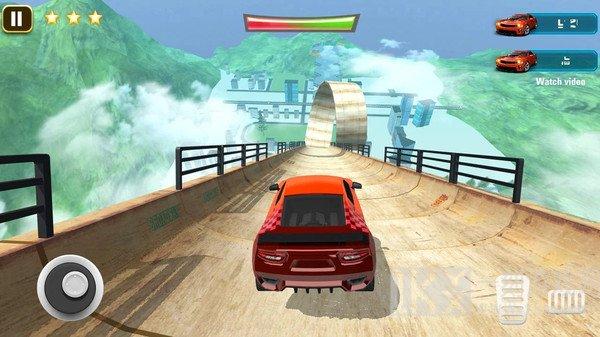 3D巨型赛车特技