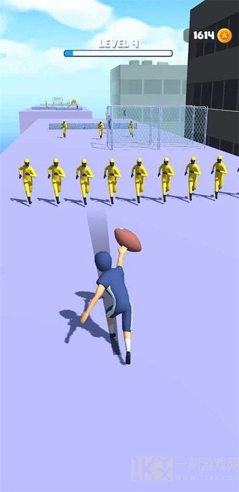 传递橄榄球