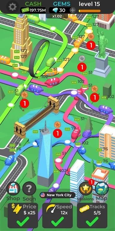 城市列车行线规划3D