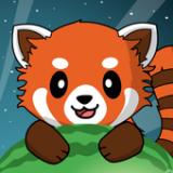 饥饿的森林小浣熊