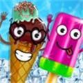 冰淇淋游戏和冰棍
