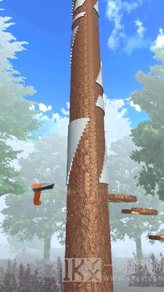 木材切碎器3D