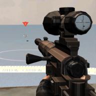海防射击海盗
