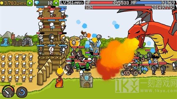 战斗城堡塔防
