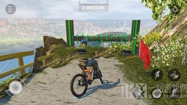 山地车特技BMX