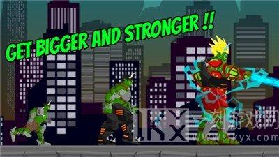 绿巨人摧毁城市