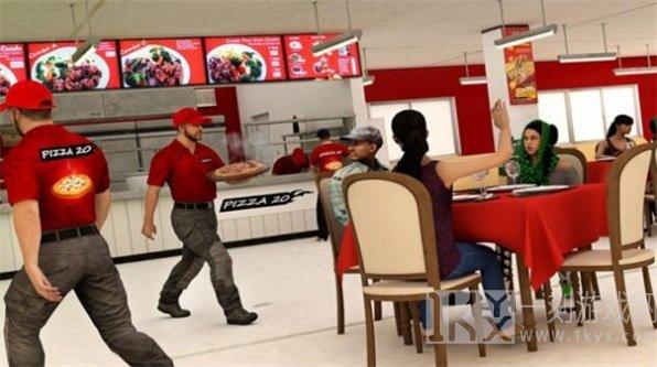 披萨送货员模拟