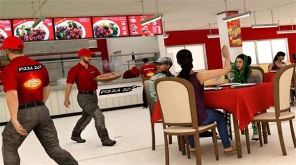 披萨送货员模拟截图
