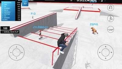 滑板空间游戏截图