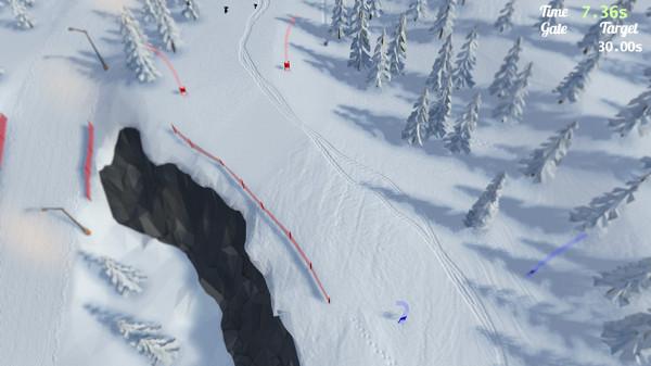 高山滑雪模拟器截图