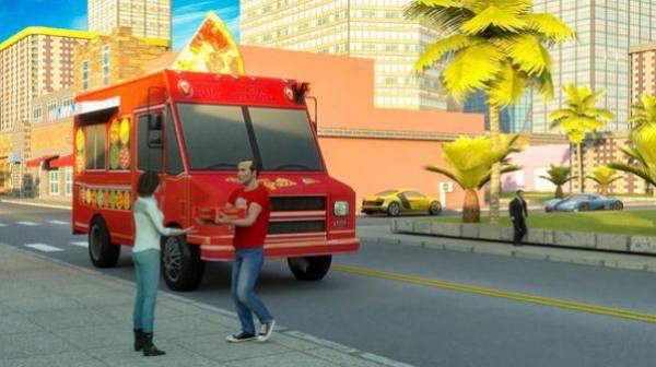 摩托披萨送货员截图