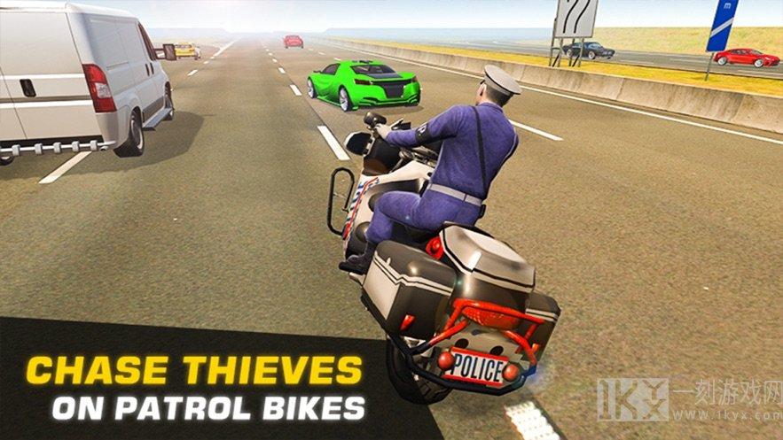 高速公路警察追捕