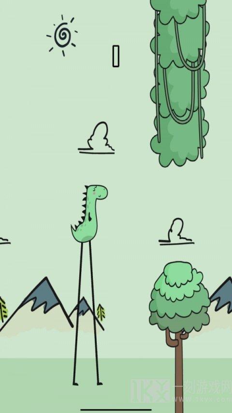 像恐龙一样走路