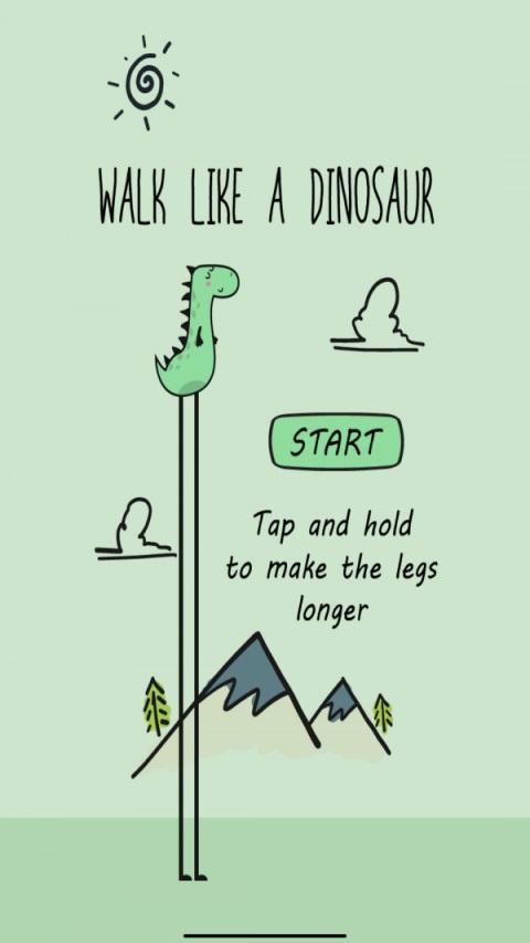 像恐龙一样走路截图