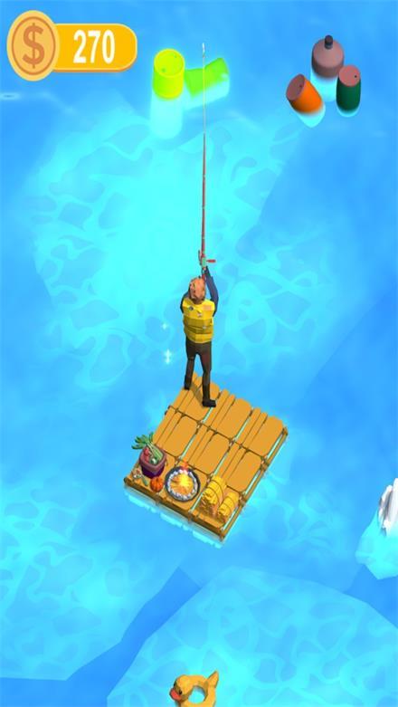 木筏钓鱼记截图
