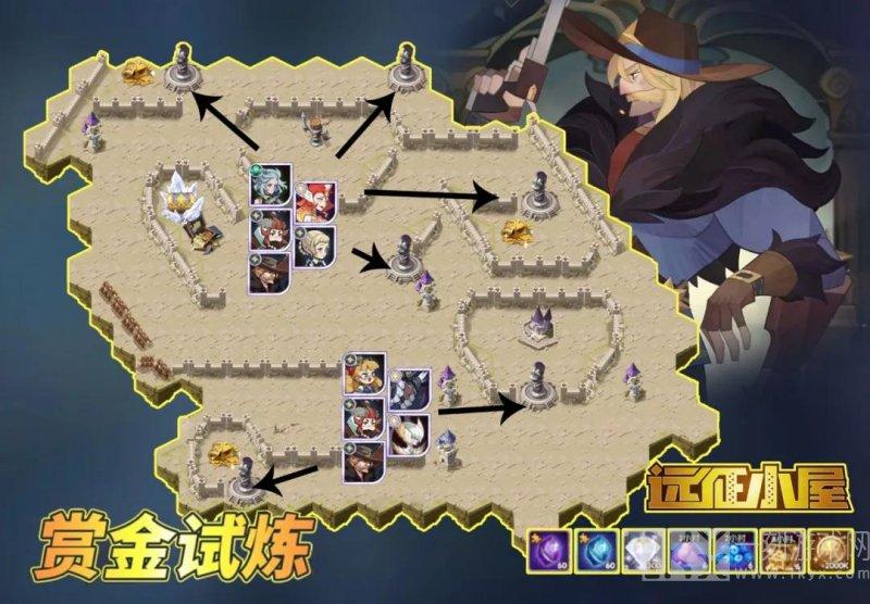 剑与远征瓦尔克试炼之地攻略阵容图分享