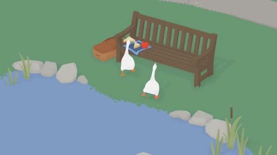 愤怒的大鹅截图