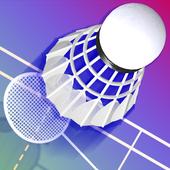 羽毛球3D打击