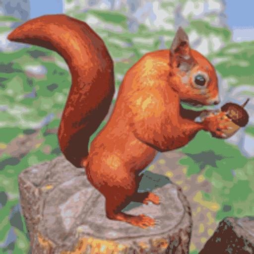 真实松鼠模拟