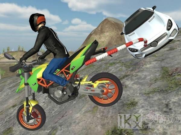 链式摩托车新种族