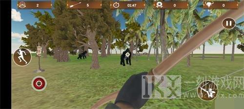 捕猎大猩猩