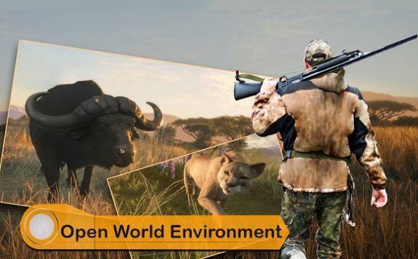 野生动物狩猎模拟