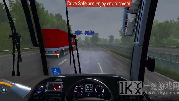 现代交通巴士模拟器3d